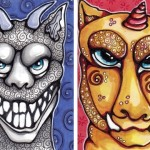 Teeth Gargoyle & Mutton Chop Gargoyle