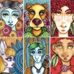People of the Forest Art Cards 1-14