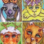 People of the Forest Art Cards, Group 3