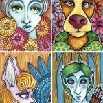 People of the Forest Art Cards, Group 2