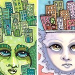 Her City Hair, and Village of the Mind