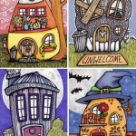 More Tiny Halloween Houses