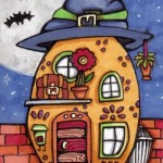 Rounded House with Witch Hat
