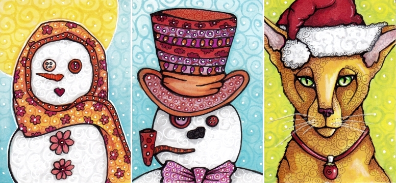 Winter Cards 2012