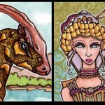Imogene and the Parasaurolophus
