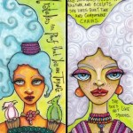 Two More Skinny Cards with Text