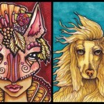 Forest Grace and Afghan Hound