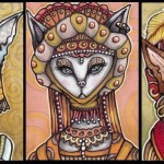 Lady Mrowr, Lady Hisst, Sir Thom Kyatten, Duke of Dandelion