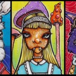 Three Twisted Alice
