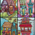 Four Little Houses