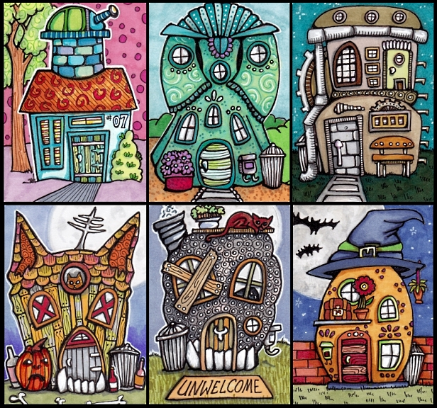 Six Tiny Houses