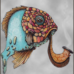 Fish 1 color right