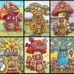 Six Tiny Houses, Mushroom and Otherwise
