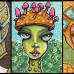 Two Cat Princesses and One Mushroom Princess